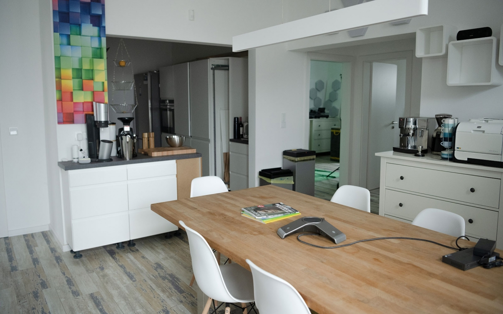 CoWorking - Küche, Essen, Arbeiten