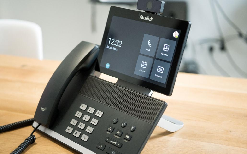 Schleispace > Video-Konferenz-Telefon